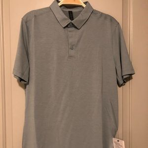 Men's Medium Evolution Polo - Mach Blue